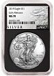 2019 1oz Silver American Eagle NGC MS70 - Early Releases - ALS Label - Black Core - PRESALE