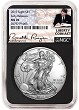 2019 1oz Silver American Eagle NGC MS70 - Early Releases - Liberty Coin Act - Black Core
