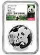 2019 China 10 Yuan Silver Panda NGC MS70 - Early Releases - Panda Label