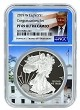 2019 W 1oz Congratulations Set Silver Eagle Proof NGC PF69 Ultra Cameo - White House Core - Donald Trump Label