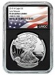 2019 W 1oz Silver Eagle Proof NGC PF69 Ultra Cameo - Early Releases - Black Core - Flag Label - PRESALE
