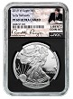 2019 W 1oz Silver Eagle Proof NGC PF69 Ultra Cameo - Early Releases - Black Core - Liberty Coin Act Label