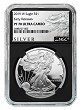 2019 W 1oz Silver Eagle Proof NGC PF70 Ultra Cameo - Early Releases - Black Core - ALS Label
