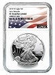 2019 W 1oz Silver Eagle Proof NGC PF70 Ultra Cameo - Early Releases - White Core - Flag Label - PRESALE