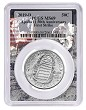 2019 D Apollo 11 50th Anniversary Uncirculated Clad Half Dollar PCGS MS69 First Strike Apollo Frame