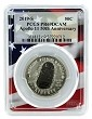 2019 S Apollo 11 50th Anniversary Proof Clad Half Dollar PCGS PR69 DCAM - Flag Frame