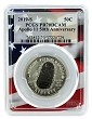 2019 S Apollo 11 50th Anniversary Proof Clad Half Dollar PCGS PR70 DCAM - Flag Frame