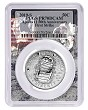 2019 S Apollo 11 50th Anniversary Proof Clad Half Dollar PCGS PR70 DCAM First Strike Apollo Frame