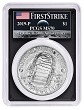2019 P Apollo 11 50th Anniversary Uncirculated Silver Dollar PCGS MS70 First Strike - AMF Moon Label
