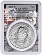 2019 P Apollo 11 50th Anniversary Uncirculated Silver Dollar PCGS MS70 First Day Issue - Apollo Frame