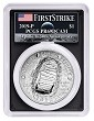 2019 P Apollo 11 50th Anniversary Proof Silver Dollar PCGS PR69 DCAM First Strike - AMF Moon Label