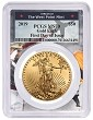 2019 $50 Gold Eagle PCGS MS70 - First Day Issue - West Point Frame