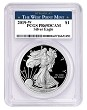 2019 W 1oz Silver Eagle Proof PCGS PR69 DCAM - West Point Label - PRESALE