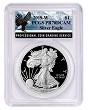 2019 W 1oz Silver Eagle Proof PCGS PR70 DCAM - Eagle Label - PRESALE