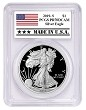 2019 S 1oz Silver Eagle Proof PCGS PR70 DCAM - Made In USA Label