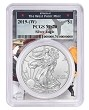 2019 (w) Struck At West Point Silver Eagle PCGS MS70 - West Point Frame