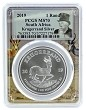 2019 South Africa 1oz Silver Krugerrand PCGS MS70 - Picture Frame