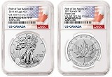 2019 Pride of Two Nations 2pc. Set US Set NGC PF69 - First Day Issue - Flags Label