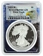 2019 W 1oz Silver Eagle Proof PCGS PR69 DCAM - Eagle Frame