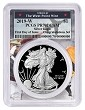 2019 W Congratulations Set Silver Eagle Proof PCGS PR70 DCAM West Point Frame - First Day Of Issue - PRESALE