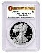 2019 W 1oz Silver Eagle Proof PCGS PR69 DCAM - First Day Issue Label