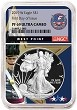 2019 W 1oz Silver Eagle Proof NGC PF69 Ultra Cameo - West Point Core - First Day Issue