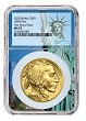 2020 $50 Gold Buffalo NGC MS70 - First Day Of Issue - Statue Of Liberty Core - PRESALE
