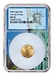 2020 $5 American Gold Eagle NGC MS70 - First Day Issue - Statue Of Liberty Core - Presale