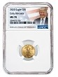 2020 $5 American Gold Eagle NGC MS70 - Early Releases - Donald Trump Label - PRESALE