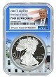 2020 S 1oz Silver Eagle Proof NGC PF69 Ultra Cameo - First Day Issue - Trump White House Core - PRESALE