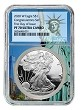 2020 W Congratulations Set Silver Eagle Proof NGC PF70 Ultra Cameo - First Day - Statue Of Liberty Core - Presale