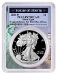 2020 W Congratulations Set Silver Eagle Proof PCGS PR70 DCAM - First Day Issue - Statue Of Liberty Frame - PRESALE