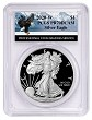 2020 W 1oz Silver Eagle Proof PCGS PR70 DCAM - Eagle Label