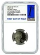 2020 S Jefferson Nickel NGC PF69 Ultra Cameo - First Day Issue Label