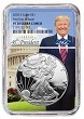 2020 S 1oz Silver Eagle Proof NGC PF70 Ultra Cameo - First Day Issue - Donald Trump Core - PRESALE