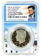 2021 S Kennedy Clad Half NGC PF69 Ultra Cameo - Early Releases - White House Core - Kennedy Label