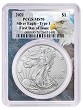 2021 1oz Silver Eagle PCGS MS70 - First Day Issue - Eagle Frame - PRESALE