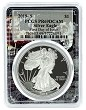 2019 S 1oz Silver Eagle Proof PCGS PR69 DCAM - First Day Issue - Space Frame - PRESALE