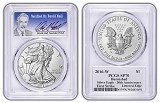 2016 W Burnished Silver Eagle PCGS SP70 - First Strike - Verified By David Hall - Presale