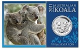 2011 Australia 1/10oz Silver Koala With Presentation Card