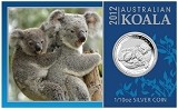 2012 Australia 1/10oz Silver Koala With Presentation Card