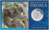 2013 Australia 1/10oz Silver Koala With Presentation Card