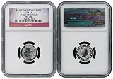 2013 P Australia 1/10th Silver Koala NGC MS70 Early Releases Flag Label