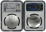 2014 P National Baseball Hall of Fame Silver Dollar NGC MS70 MLB Players Derek Jeter