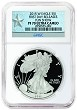 2015 W 1oz Silver Eagle Proof NGC PF70 UC - First Day Releases Fun Show - Star Label