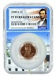 2000 S Lincoln Penny NGC PF70 RD Ultra Cameo - White House Core