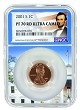 2001 S Lincoln Penny NGC PF70 RD Ultra Cameo - White House Core