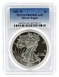 2001 W 1oz Silver Eagle Proof PCGS PR69 DCAM - Blue Label