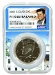 2001 S Kennedy Clad Half NGC PF70 Ultra Cameo - White House Core