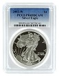 2002 W 1oz Silver Eagle Proof PCGS PR69 DCAM - Blue Label